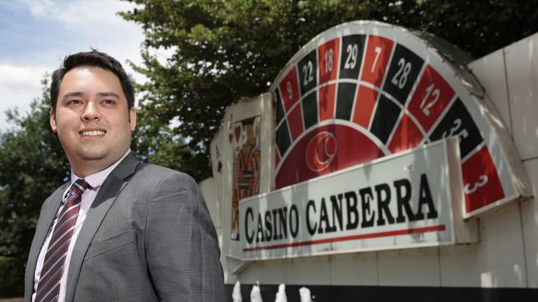 Canberra vision: Aquis managing director Justin Fung has grand plans for Casino Canberra.