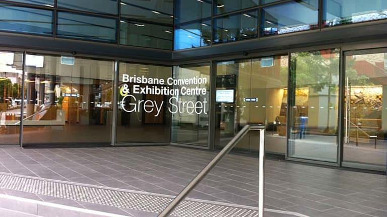 Brisbane Convention and Exhibition Centre.