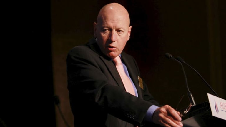 Backing the bill: Energy Minister Chris Hartcher.