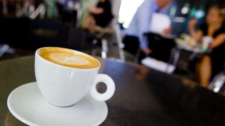 """""""No caffeine for you"""": my choice of poison was not going to be accepted by this barista."""