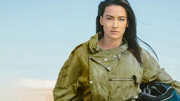 Brisbane actor Libby Munro stars in QTC's Grounded.