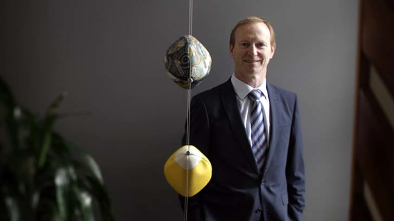 Concerned: NRL's head of strategic projects, Shane Mattiske.