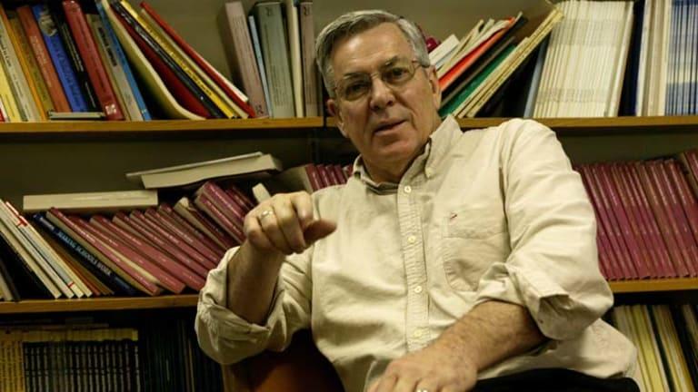 Voice of reason ... ANU economist Bob Gregory.