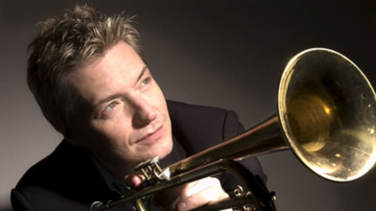 Surprise ... the American trumpeter Chris Botti far exceeded expectations.