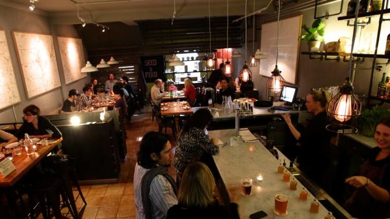 American hits ... Hartsyard's down-home food, with added drama, fits well in Newtown.