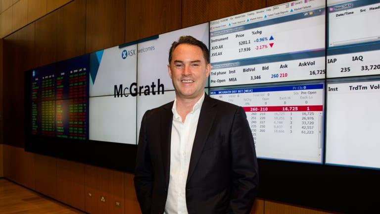 Sydney real estate agent John McGrath