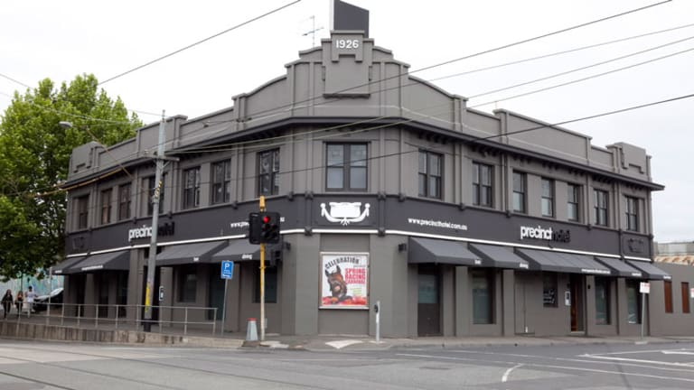 Darcy's latest venture, the Precinct Pub
