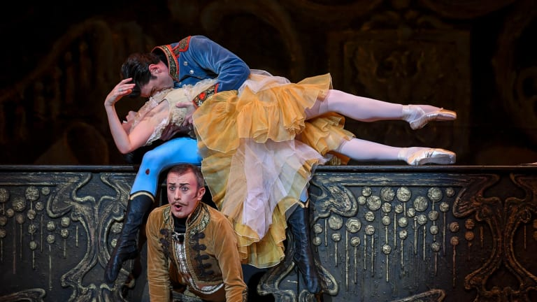 The Merry Widow is a light-hearted romantic comedy.