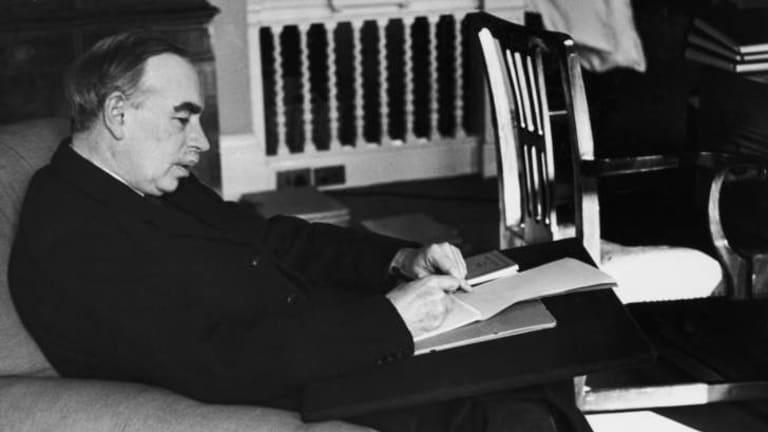 British economist John Maynard Keynes (1883 - 1946).