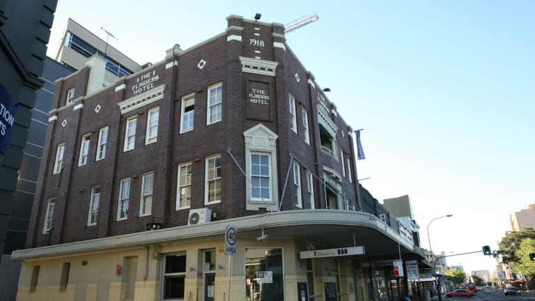 The Flinders Hotel, a focal point of Sydney's LGBTQI community, closed in January 2015.