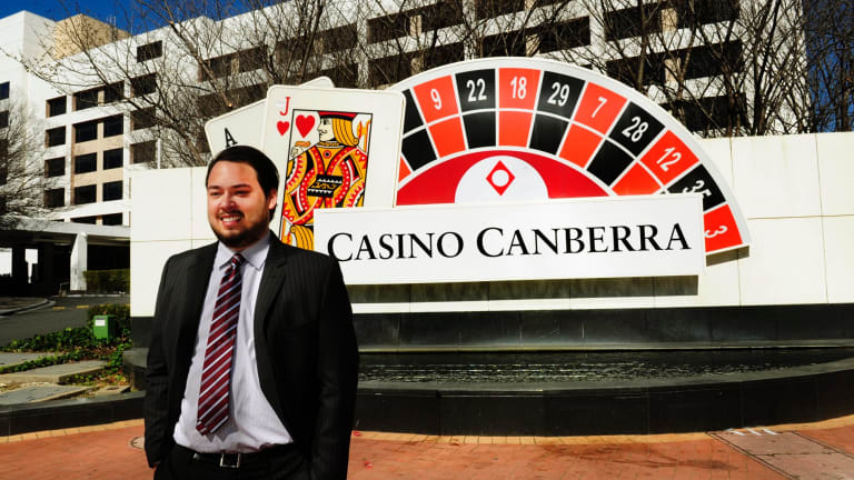 Justin Fung, whose family owns the Canberra casino, photographed in 2015. The redevelopment bid is finally reaching a decision.