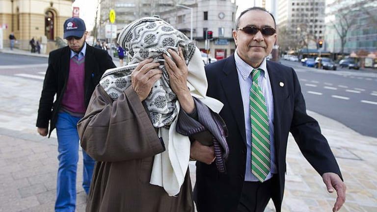 Facing fresh allegations: Ahmed Adbelshafy Mohamed El-Kahly (covered).