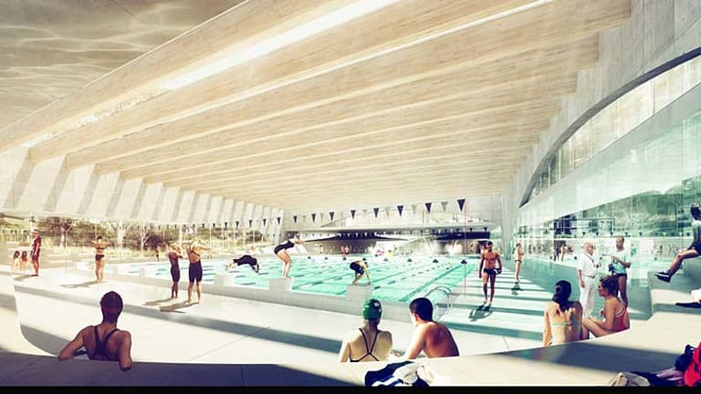 Green Square: The city's newest and largest pool complex.