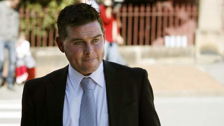 Sexual abuse victim known as AH leaves Newcastle Supreme Court on Tuesday.