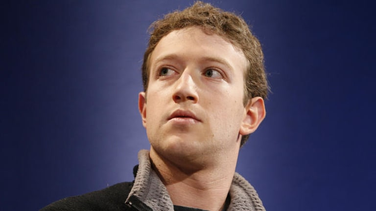 The new establishment ... Mark Zuckerberg.