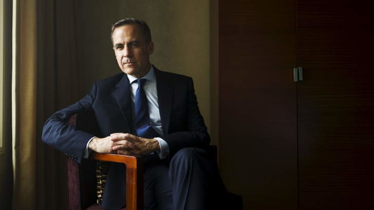 Bank of England Governor and Financial Stability board chairman Mark Carney.