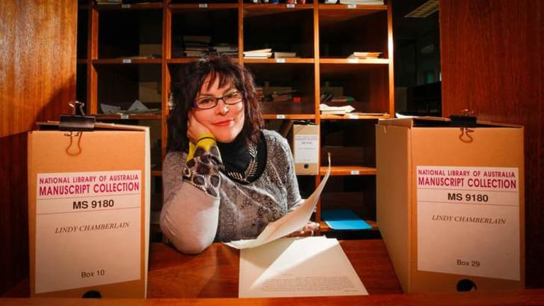 Alana Valentine has been researching hundreds of letters sent to Lindy Chamberlain.