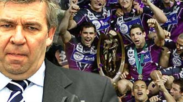 Storm and former chief executive Brian Waldron, the architect of the salary cap breach, accordiing to John Hartigan.