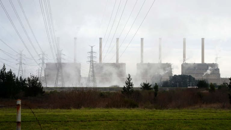 Less is more: carbon emissions drop from the power sector.