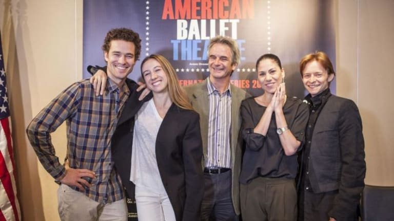 The American Ballet Theatre's Cory Stearns, Isabella Boylston, Kevin McKenzie, Paloma Herrera and Daniil Simkin.