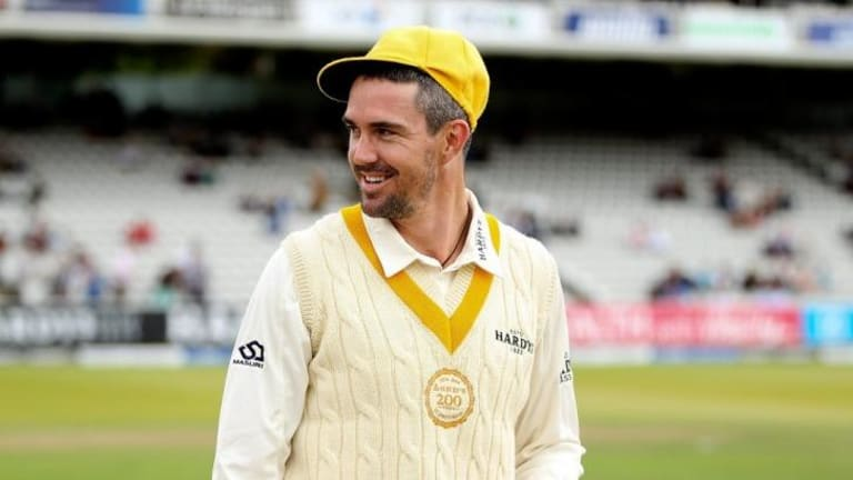 Kevin Pietersen scored 10 for the MCC against the Rest of the World.