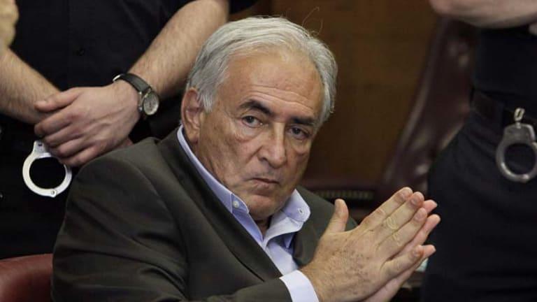 Accused ... Dominique Strauss-Kahn.