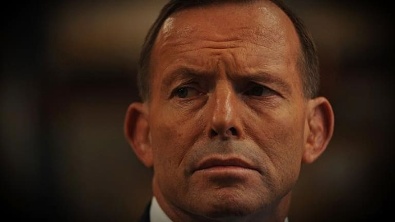 Tony Abbott: His political pugilism is driving the electorate to despair.