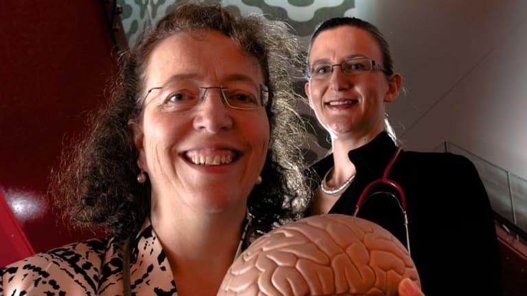 Golden girls … Professor Ingrid Scheffer and Dr Natasha Brown.