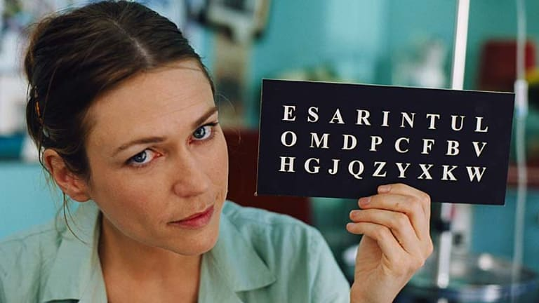Shining some light ... the 2007 film <i>The Diving Bell and the Butterfly</i> brought awareness of locked-in syndrome to the public.