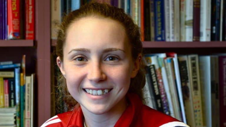 Eighth-grader Mallory Kievman.