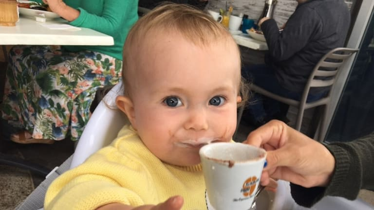 Aviana was the first baby in Australia to be treated at no cost with Nusinersen (Spinraza), which has just been approved by the TGA.