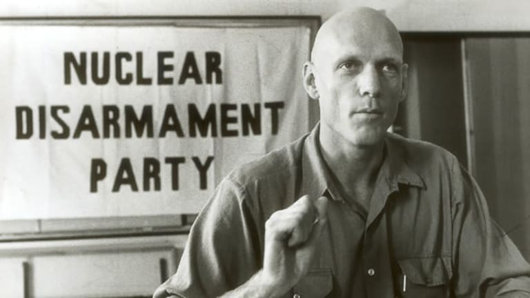Peter Garrett in the 1980s.
