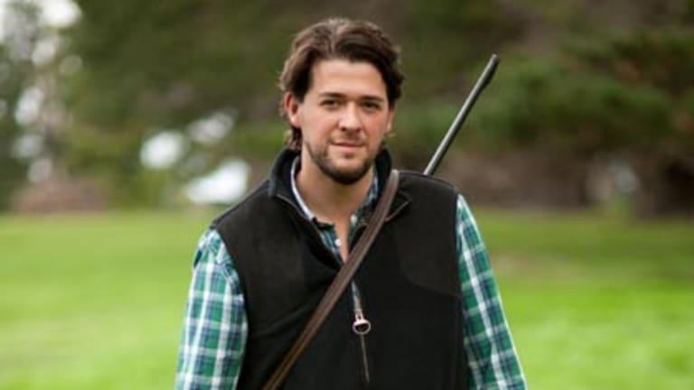 Hunter-gatherer ... Matt Fowles prefers to kill his own dinner.