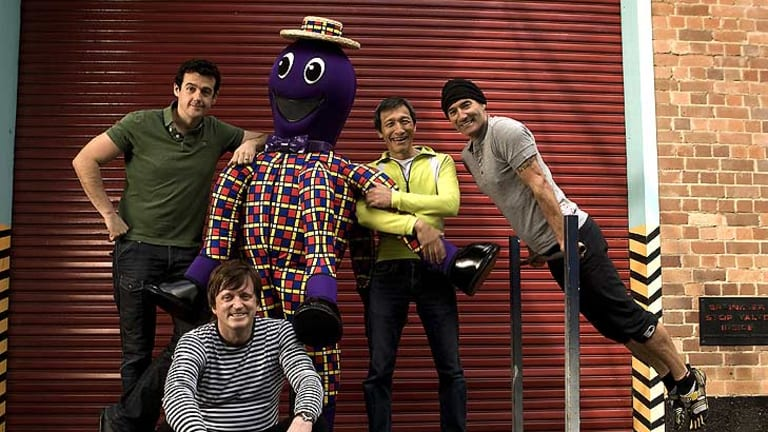 The Wiggles ... have sold more than 30 million CDs and DVDs globally.
