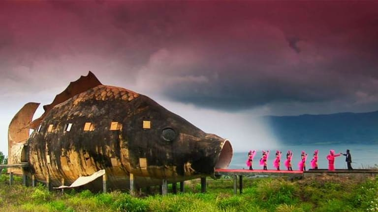 The Act of Killing... screening at the  Arc Cinema on Saturday.