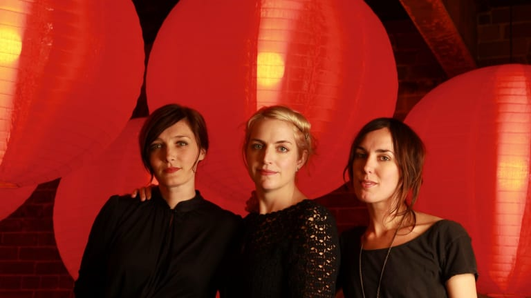 Left to right: Sarah Blasko, Sally Seltmann and Holly Throsby are  Lover, Seeker, Keeper.