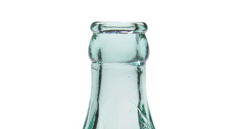 Then ... the prototype of a coke bottle that sold for $US240,000 at auction.