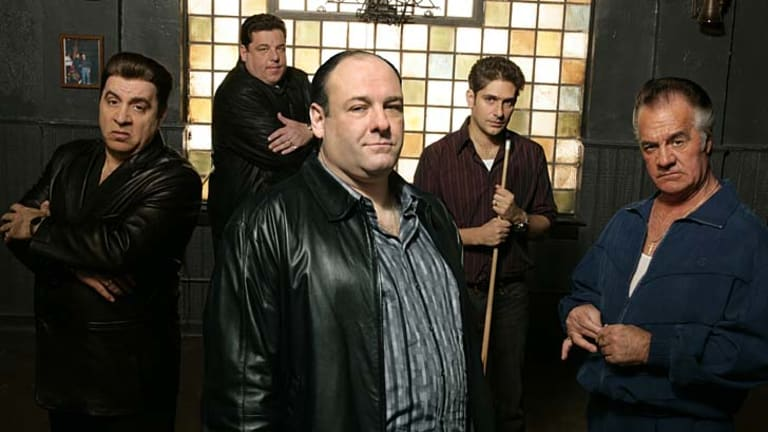 Crime pays: <i>The Sopranos</i>.