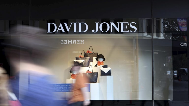 David Jones says Melbourne is the 'the fashion capital of Australia'.