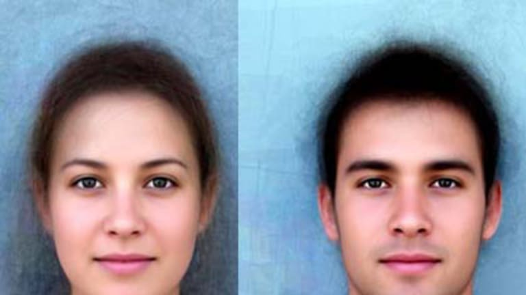 """The """"average"""" Sydneysider - a composite image made up of over 100 faces."""