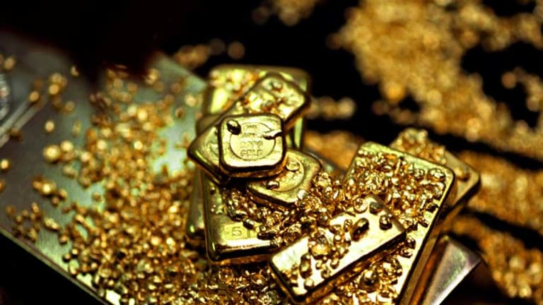 Gold loses its shine.