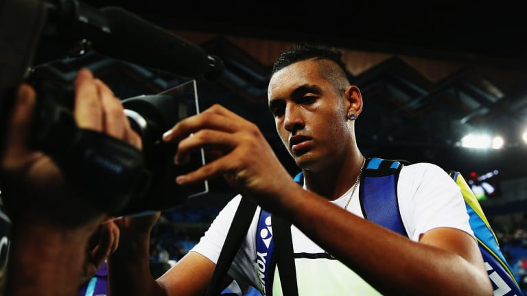 Nick Kyrgios has the weight of expectation on him for the Australian Open.