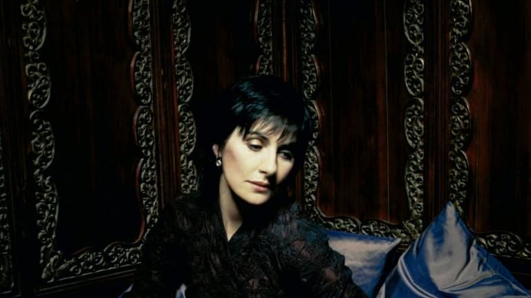 Classic: Irish singer Enya hit the big time with her ethereal music.