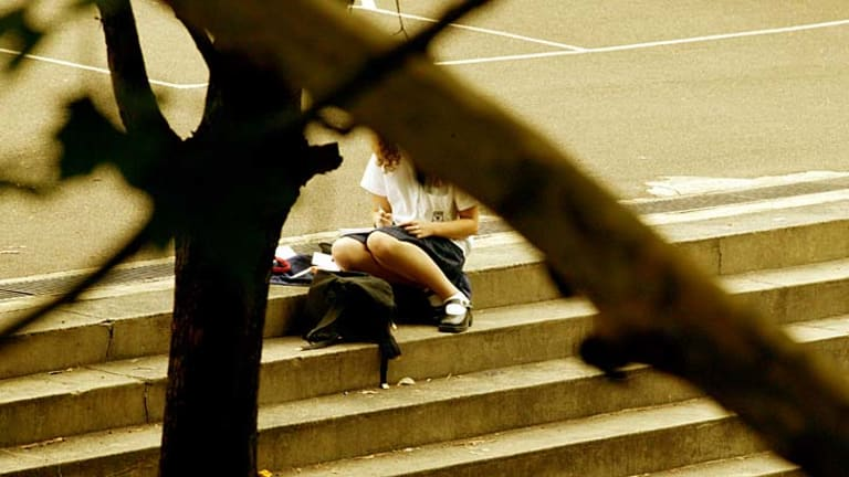 Study's dramatic findings: High level of depression among high school students and inability to cope under stress.