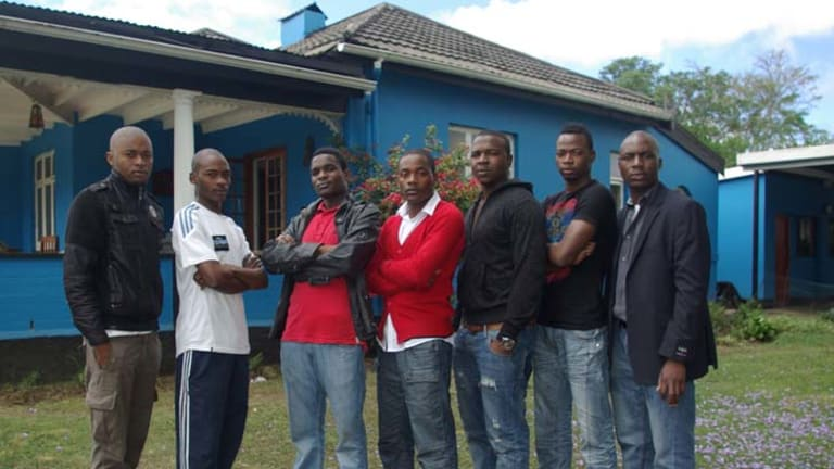 Residents of the Pietermaritzburg house.