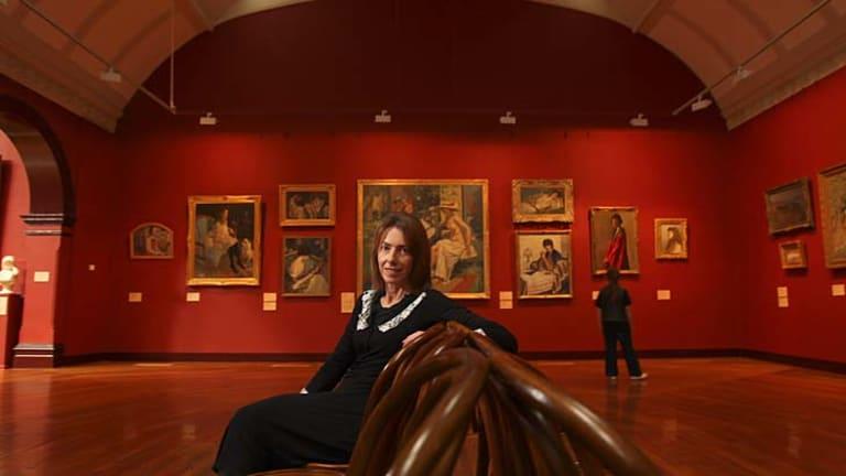 Karen Quinlan, art director of Bendigo Art Gallery.