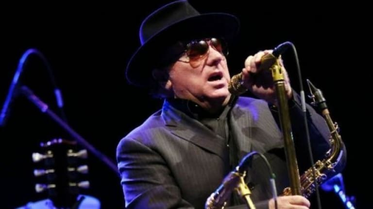 Van Morrison is a new entry on the album charts with Duets: Re-Working The Catalogue.