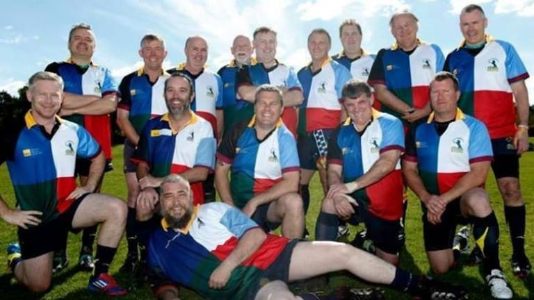 ACT Veterans rugby players  are celebrating their 20th anniversary as a club.
