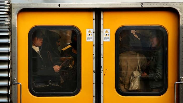 Inferno: Older carriages will remain in service if the O'Farrell government ignores deadlines to order new trains.