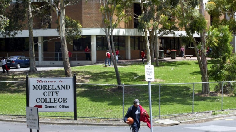 Gone: Moreland City College closed in 2004, joining Coburg High School which closed in 1993, but an influx of families since then has brought pressure on the state government to expand secondary education in the area.